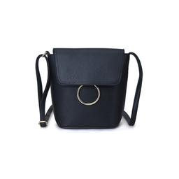 Lucy Cobb Gold Ring Mini Bag  - Black