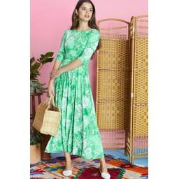 Onjenu Joni Dress - Frida Green