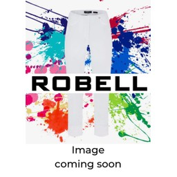 Robell Trousers Rose 09 Silver Check Trousers - Light Blue