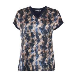 Fransa Fremix 1 T-shirt - Navy Mix