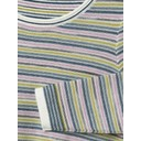 Misty Lake Stripe Jumper - Green Mix - Alternative 2