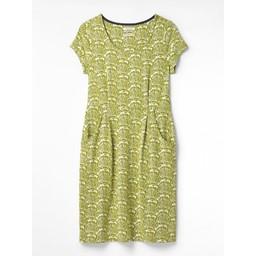 White Stuff Rockpool Dress - Green Mix
