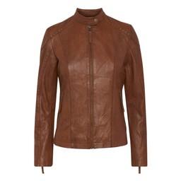 Fransa Fresleather 1 Jacket  - Tan