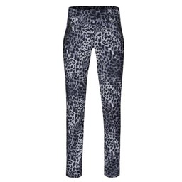 Robell Trousers Nena Jeans Leo-Print - Grey