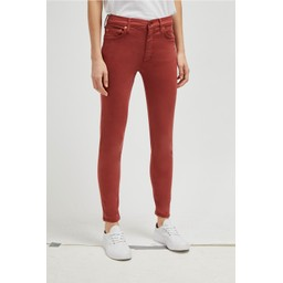 French Connection Rebound Organic Cotton 30 Inch Skinny Jeans - Rosewood