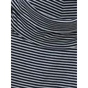 Philippa Polo Neck Jersey Tee - Navy - Alternative 4