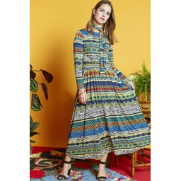 Onjenu Joni Long Dress - Zebresse