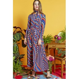 Onjenu Joni Long Dress - Ciel