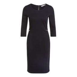 Oui Zip Pocket Dress - Black
