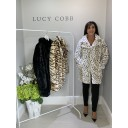 Animal Print Faux Fur Coat - Leopard Print