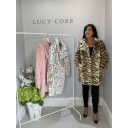 Animal Print Faux Fur Coat - Tiger Print