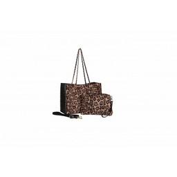 Malissa J Leopard Shopper Bag - Leopard Print