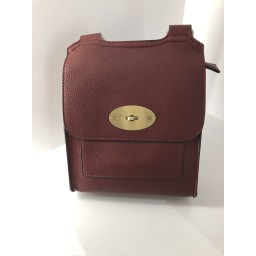 Lucy Cobb Crossbody Bag in Wine Red