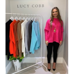 Lucy Cobb Janet Jumper in Pink
