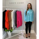 Janet Jumper - Soft Turquoise
