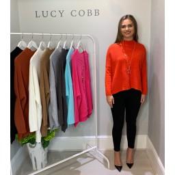 Lucy Cobb Janet Jumper - Orange
