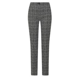 Robell Trousers Holly Trousers - Black & White