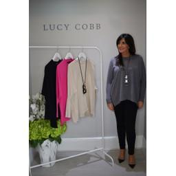 Lucy Cobb Rae Reverse Seam Jumper - Grey