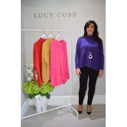 Lucy Cobb Janet Jumper in Purple