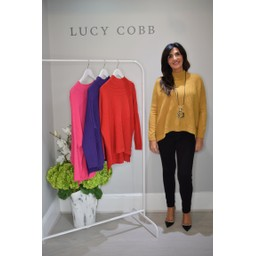 Lucy Cobb Janet Jumper in Mustard