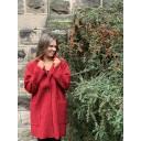 Jess Boucle Coat - Red - Alternative 1