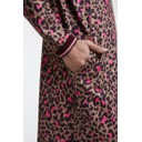 Pink leopard Midi Dress - Pink Leopard - Alternative 3