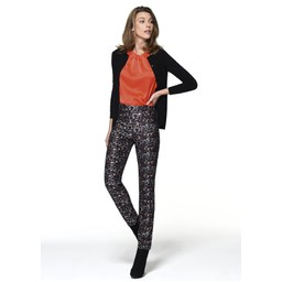 Robell Trousers Rose Animal Print Jeans - Animal Print