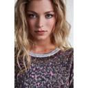 Pink Leopard Fine Knit Jumper - Pink Leopard - Alternative 3
