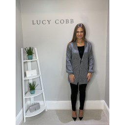 Lucy Cobb Candice Cardigan - Grey
