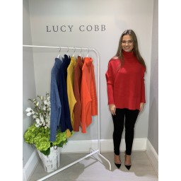 Lucy Cobb Janette Jumper in Red