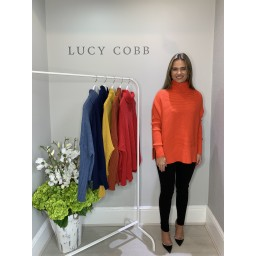 Lucy Cobb Janette Jumper in Orange