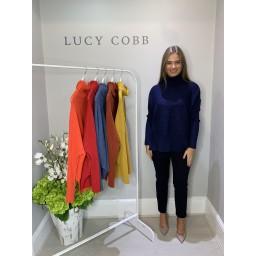 Lucy Cobb Janette Jumper - Navy
