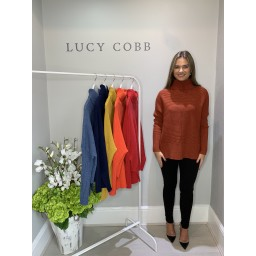 Lucy Cobb Janette Jumper - Rust