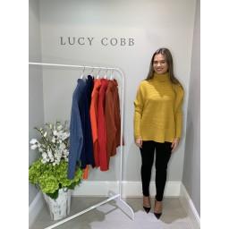 Lucy Cobb Janette Jumper - Mustard
