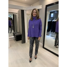 Lucy Cobb Janette Jumper in Purple
