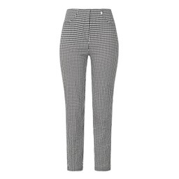 Lucy Cobb Bella Full Length Houndstooth - Black & White