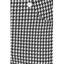 Bella Full Length Houndstooth - Black & White - Alternative 2