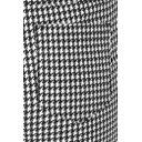 Bella Full Length Houndstooth - Black & White - Alternative 3