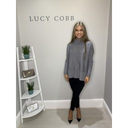 Lucy Cobb Janette Jumper in Grey