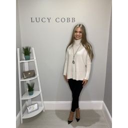 Lucy Cobb Janette Jumper - Winter White