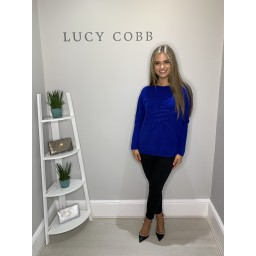 Lucy Cobb Star Jumper in Royal