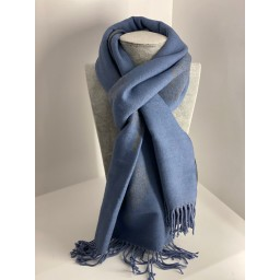 Lucy Cobb Willow Pashmina in Pale Blue
