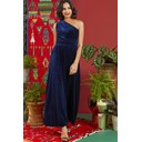 Rosa Dress - Navy Velvet - Alternative 2
