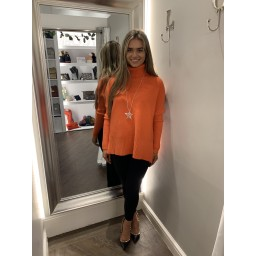 Lucy Cobb Janette Jumper in Coral