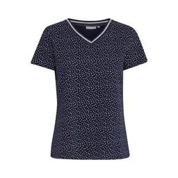 Fransa FRhiorganic 2 T-Shirt in Navy Spot