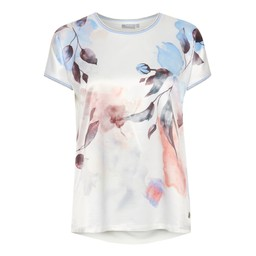 Fransa FRhimixflower 1 T-Shirt - White