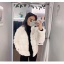Fion Faux Fur Jacket - Cream