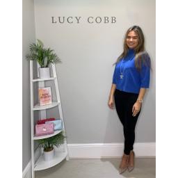 Lucy Cobb Bali Box Jumper  - Cornflower Blue