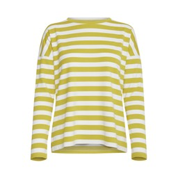B Young BYTimo stripe pullover - Acid Yellow