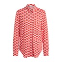 Lip Print Blouse - Red - Alternative 2